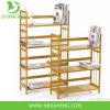 Sustainable Multifunctional Bamboo 3 Shelf Bookcase