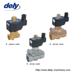 2W/2S (UW) 2 way brass (stainless steel) water normal open solenoid valve (larger aperture)