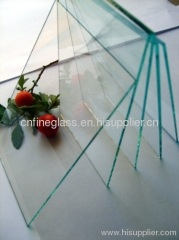 1mm - 8mm rectangle clear mirrored glass