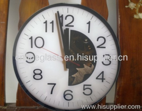 High quality clock glass with honesty service