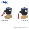 2L (US) 2 way brass steam high temperature solenoid valve