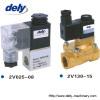 2V 2 way brass water solenoid valve