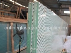 deep processing laminated glass
