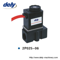 2P 2 way plastic water solenoid valve