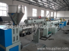 PERT pipe extrusion line