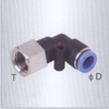 Female elbow One touch tube fittings