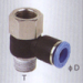 Female banjo one touch tube fittings