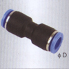 Union straight one touch tube pneumatic fittings