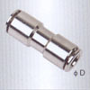 Union straight brass Pneumatic fittings