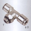Metal Pneumatic fittings