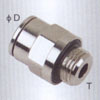 Male straight brass Pneumatic fittings(G thead)