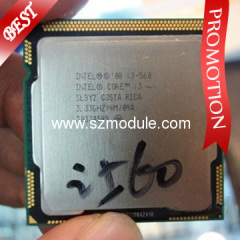 Intel Core i3 CPU i3-560 3.06GHz,4M,1156pin,32nm