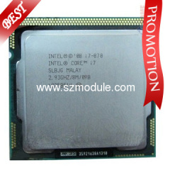 Intel Core i7 CPU i7-870 2.93GHz,8M,1366pin