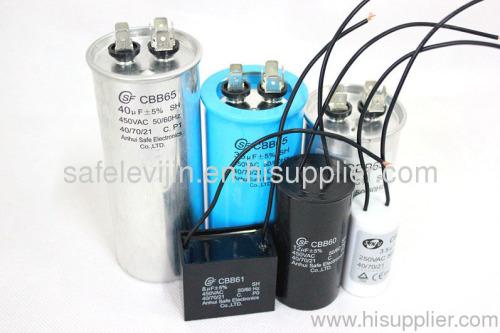 washing machine motor film capacitor