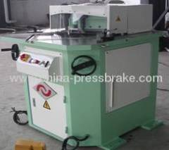 Corner connector cutting machine
