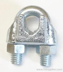 malleable cast wire rope clip
