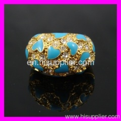 Hot selling fashion 18k gold ring 1340112
