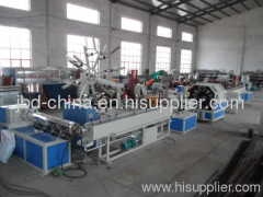 PVC fiber enahncing soft pipe production line