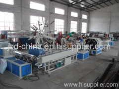 PVC fiber enahncing soft pipe production line