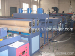 plastic hollow board extrusion line