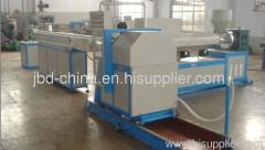 PVC steel wire reinforced hose extrusion line