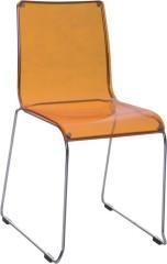 Clear Acrylic Side Chair