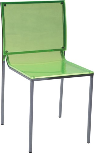 Exceptionnel Clear Transparent Acrylic Dining Chair   Green Color