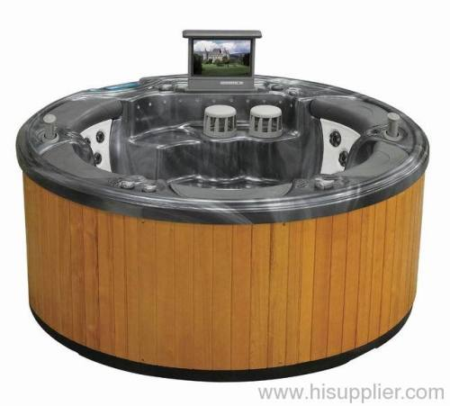 jacuzzi spa round hot tubs outdoor spas from china. Black Bedroom Furniture Sets. Home Design Ideas