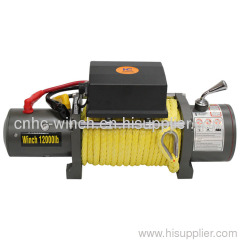 Nylon rope winch