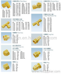 brass fitting for water meter