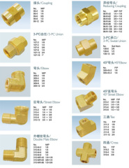 Brass Pipe Fittings For Plumbing