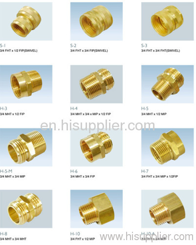 Water Hose Fittings Brass Brass Garden Hose Fittings