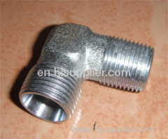 90 elbow hydraulic adapter from china