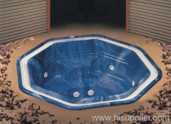 jacuzzi built-in hot tub ; hot tubs for hotel application