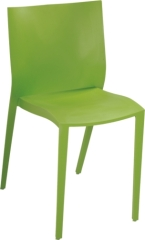 PP green color Stackable Leisure Chair