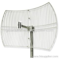 1920-2170MHz 3G Grid Parabolic Antenna With 21DBI