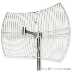 1920-2170MHz 3G Grid Parabolic Antenna With 21DBI