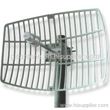 3400-3600MHz 3.5G Wimax Grid Parabolic Antenna With 19DBI High Gain