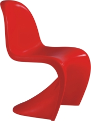 ABS morden S style leisure Panton baby Chairs