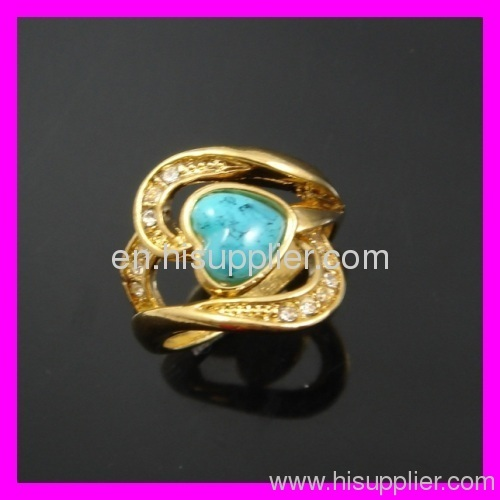 alloy ring brass ring zircon ring export ring europen