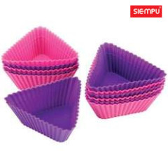 Triangle Silicone Muffin Cake Cup (SP-SB004)