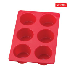Silicone 6 PCS Cake Cup Mould (SP-SB017)