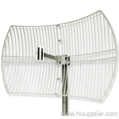 2.4G WIFI Wireless Grid Dish Parabolic Antenna With 24DBI High Gain