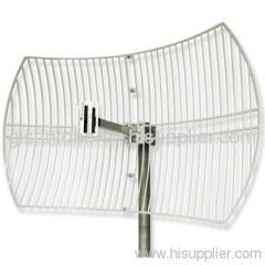 2.4G WIFI Wireless Grid Dish Parabolic Antenna With 24DBI High Gain