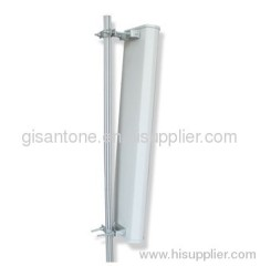 2.4G WIFI Single Polarization Sector Antenna With 65 Degrees 18DBI High Gain