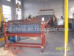 PP/PE/ABS/PS board making machine