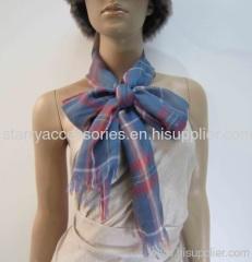 multi color acrylic woven scarf
