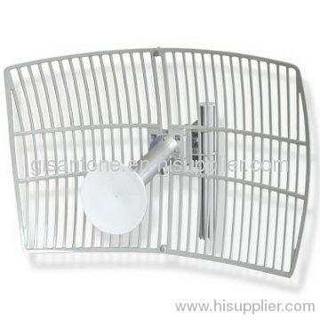 5150-5850MHz 5G 5.1G 5.5G 5.8G Outdoor 24DBI Grid Parabolic Antenna