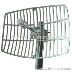5725-5850MHz 5.8G Grid Parabolic Antenna With 24DBI