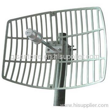 5725-5850MHz 5.8G Grid Parabolic Antenna With 24DBI